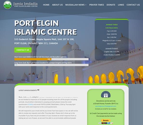 Port Elgin Islamic Centre